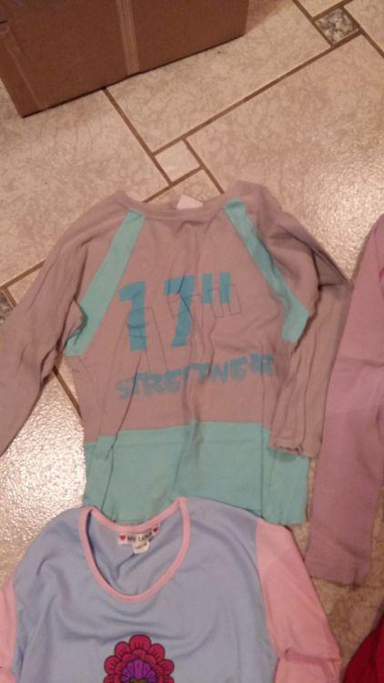 Långarmade tröjor stl 134/140