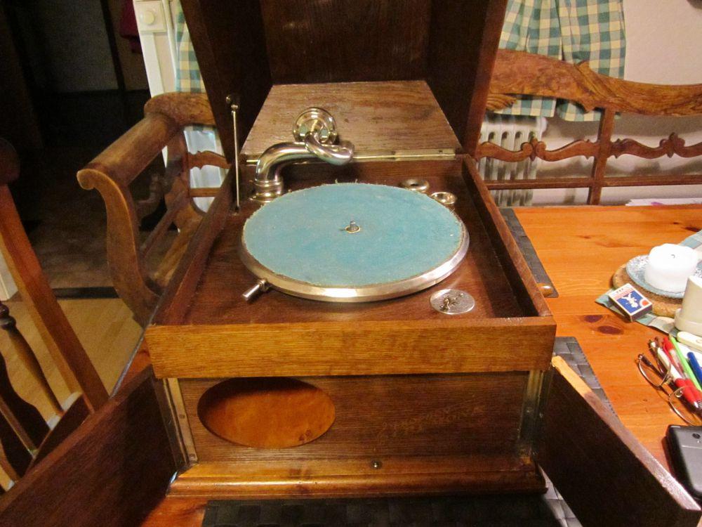Antik salonsgrammofon