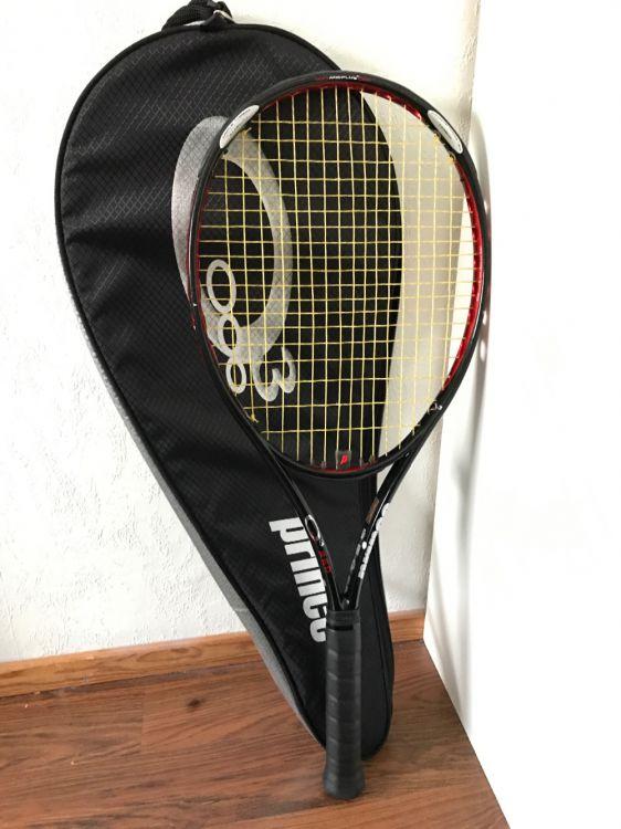 Tennis rack, väska och fodral (PRINCE)