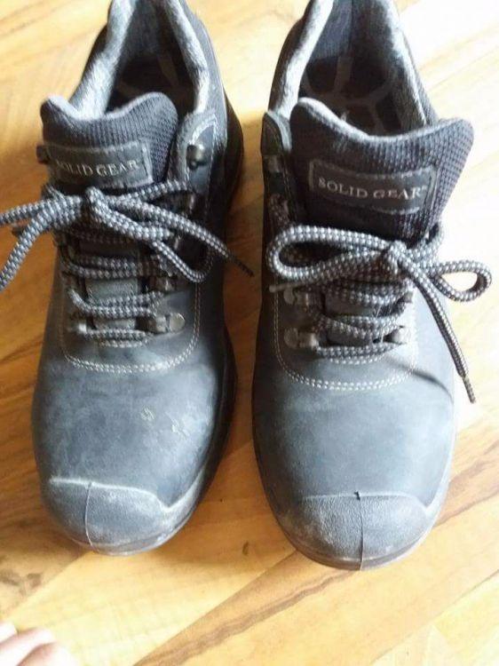Arbetskläder och skor
