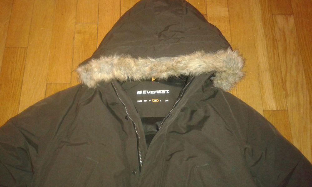 Everest Dunjacka mörkgrön stl M Nyskick.