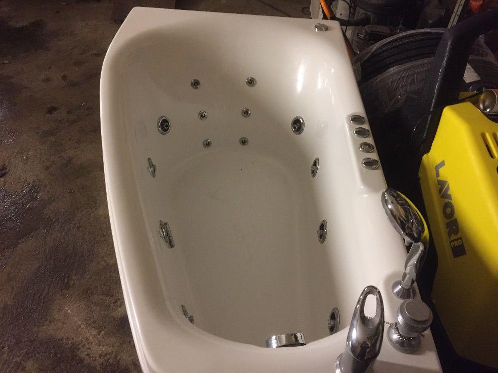 Bubbelbadkar komplett inkl massagedusch