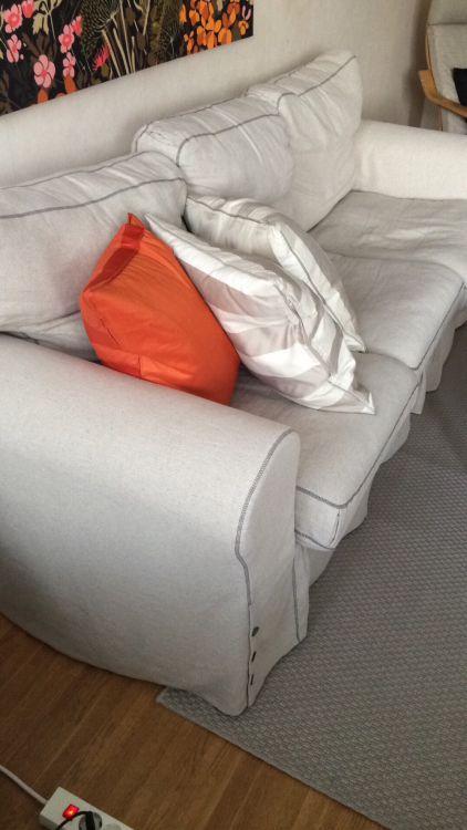 IKEA-Soffa
