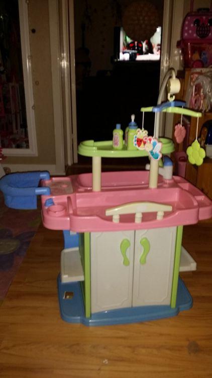 Baby born skötbord badkar garderob