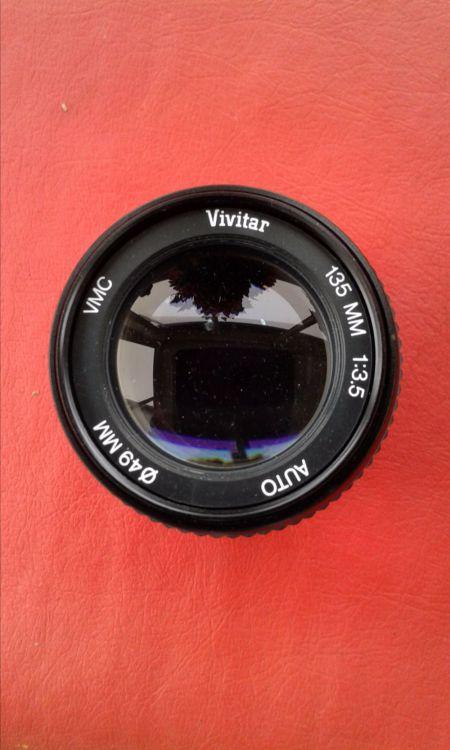 Objektiv Vivitar 135 mm