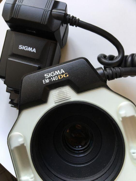 Canon macroobjektiv och ringblixt
