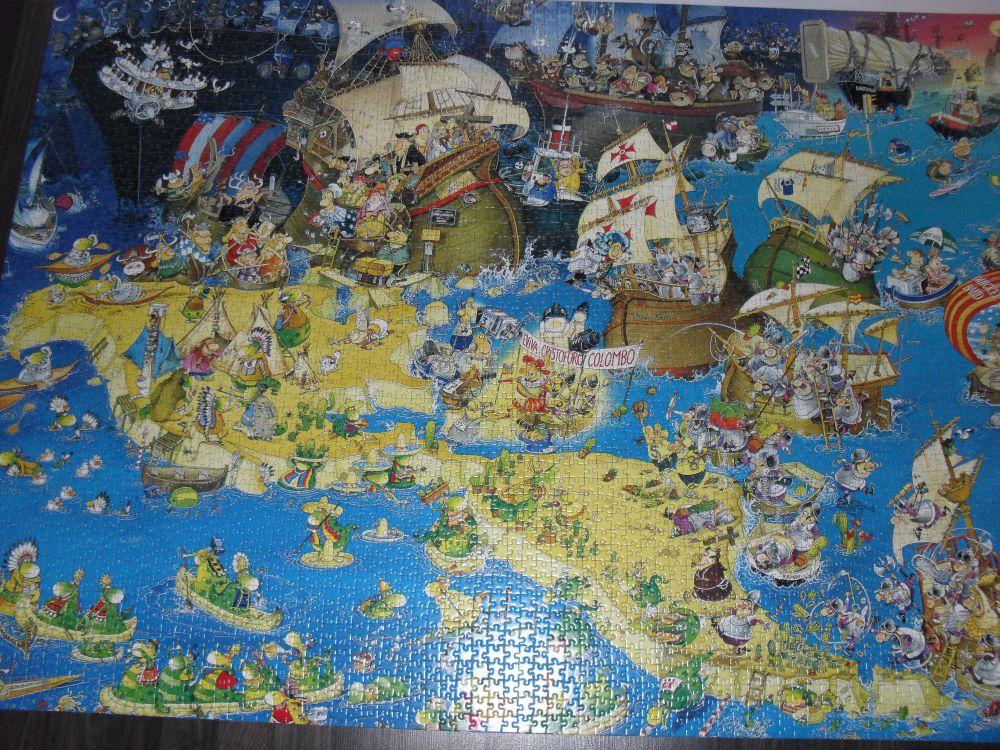 Puzzel 4 000 bitar