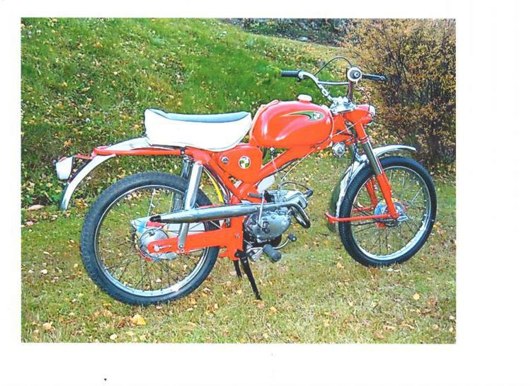 Veteran Moped PUCH CROSS Köpes