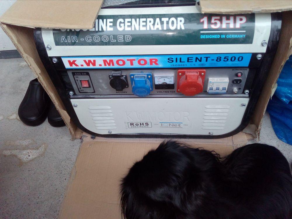 Silent 8500 generator
