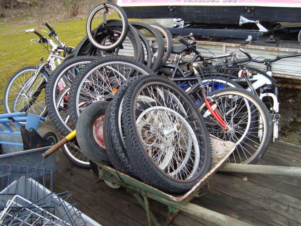 Cyklar gds rep-objekt ca 10 st + delar
