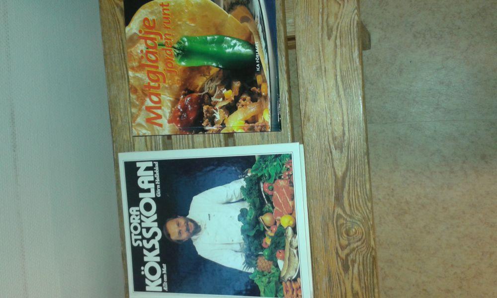 Bonniers kokbok 1 2 stora köksskolan matglädje jorden runt grön hälsomat dinosaurerna scarf