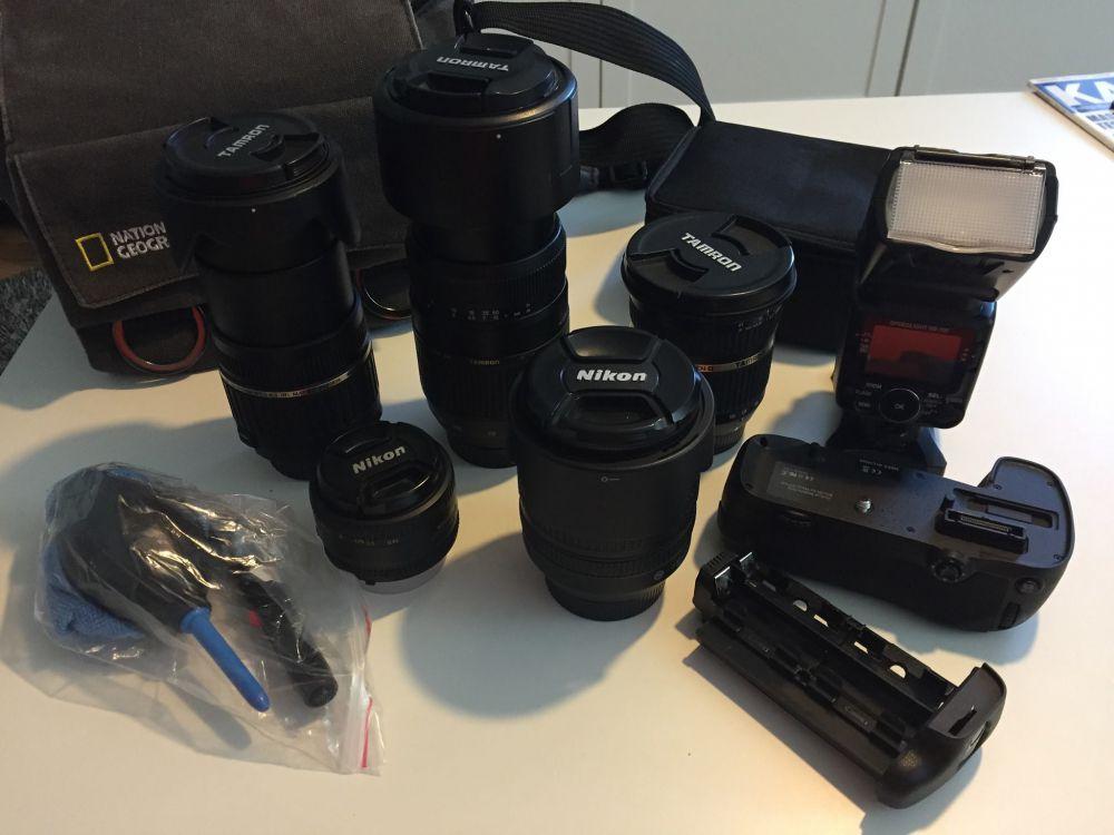 Kamera Objektiv i super skick