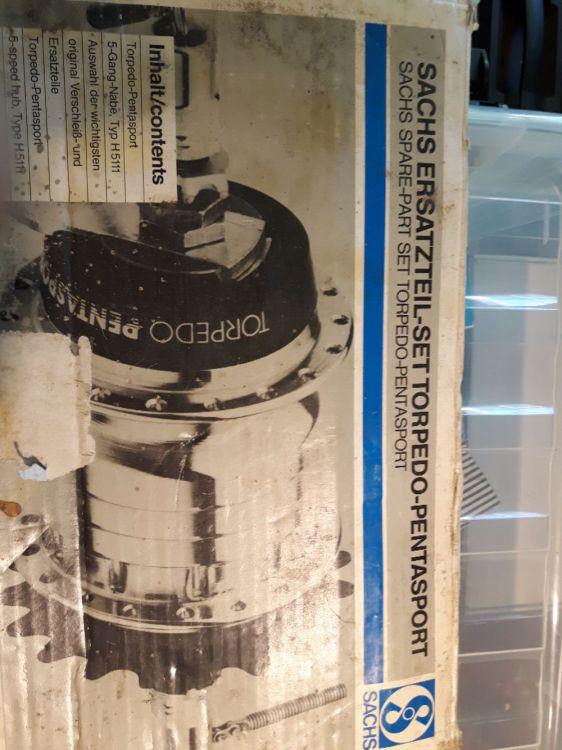 Reservdelar Torpedo 5växlat nav