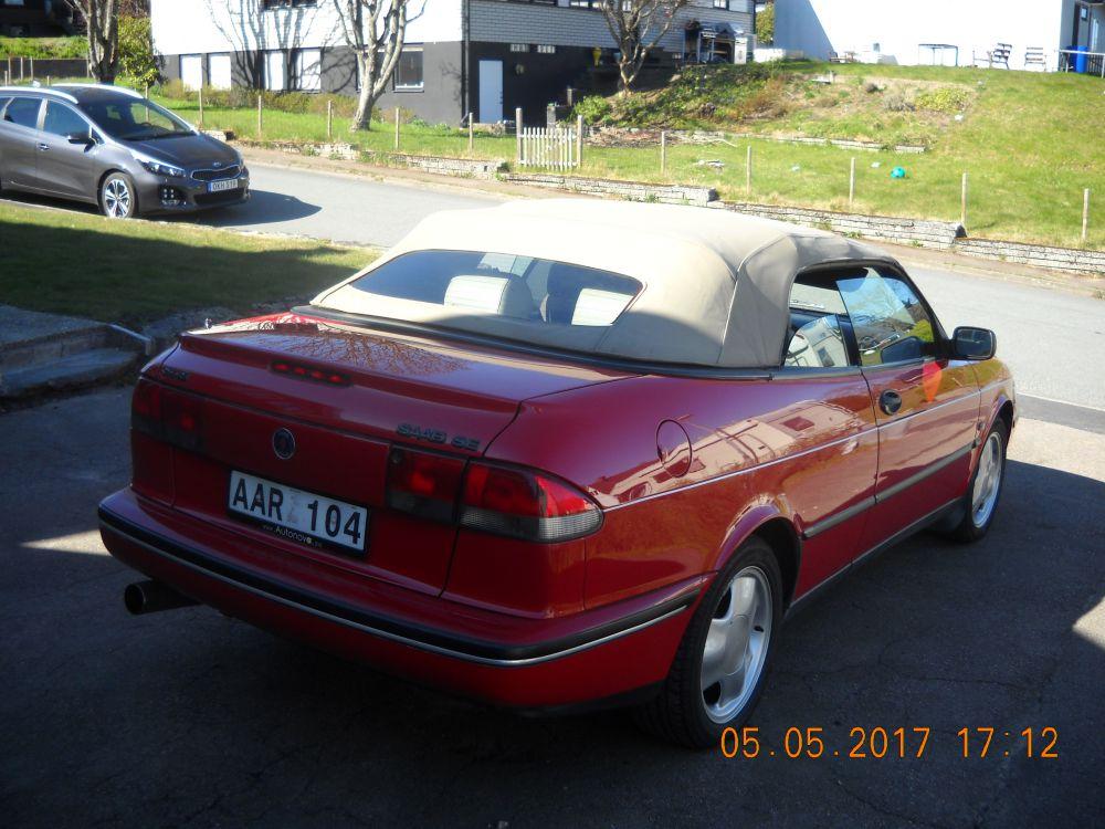 SAAB CAB 1995 bra skick