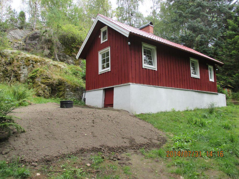 Underbart helrenoverat hus nära Uddevalla