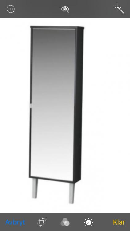Svart Skoskåp med spegel från Ikea Möbler& Inredning i Härryda med stolar, soffa, soffbord