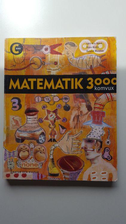 Matematik 3000 komvux -