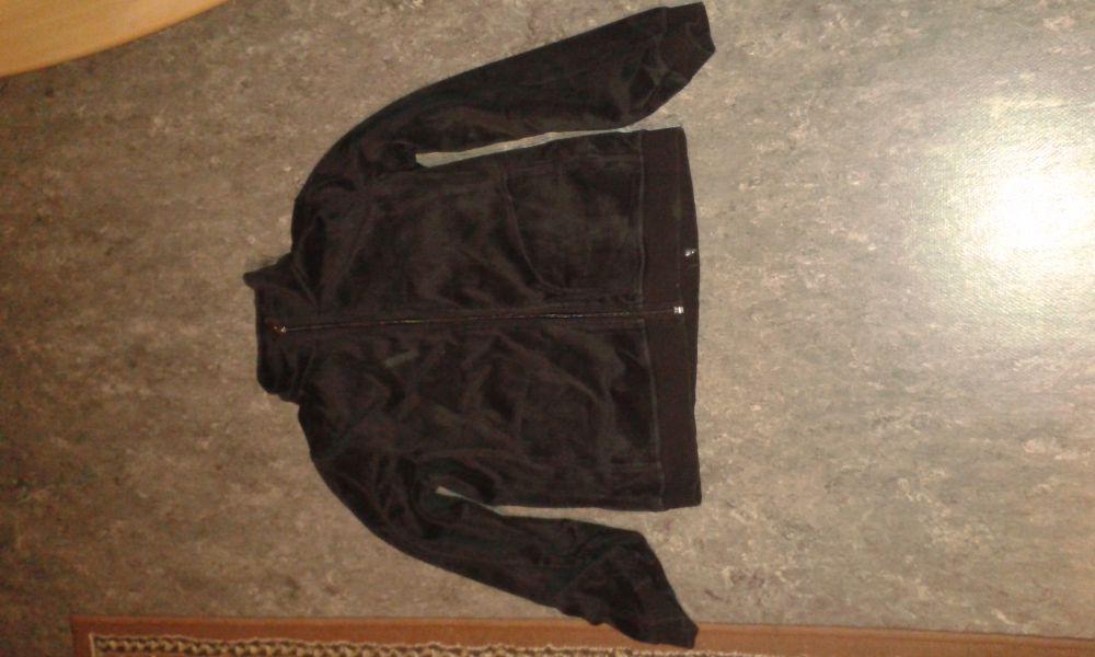 Real madrid jeans tröja med dragkedja