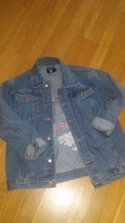 Jeans jacka från Boohoo