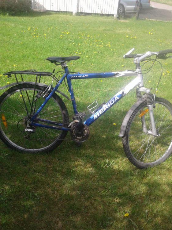 Cykel 24-26 tum