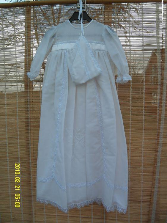 Dopklänning