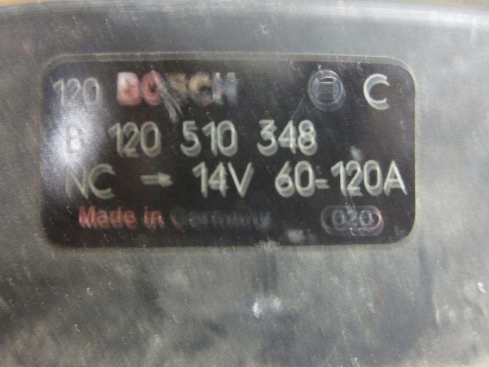 Volvogenerator 120Amp