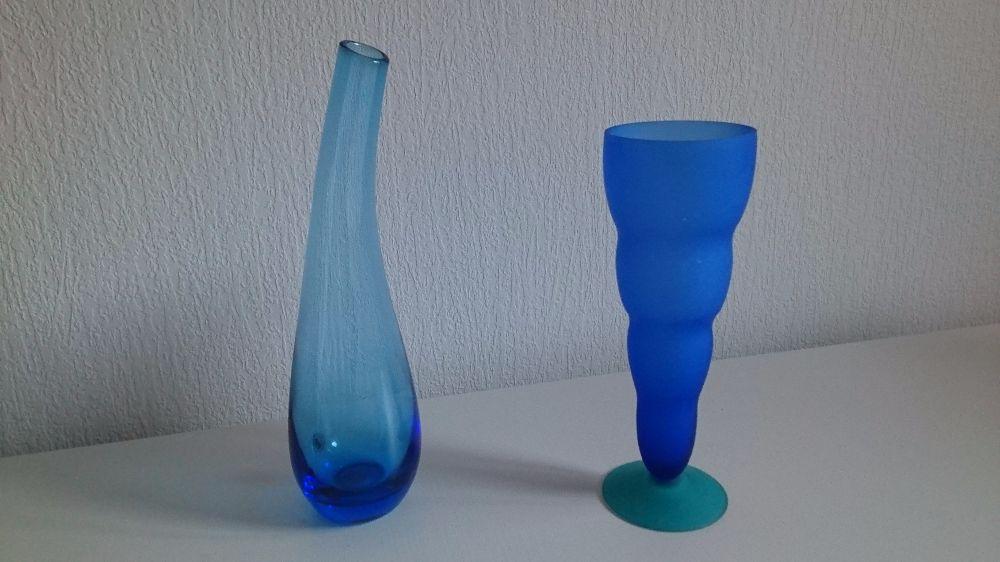 Vaser blå