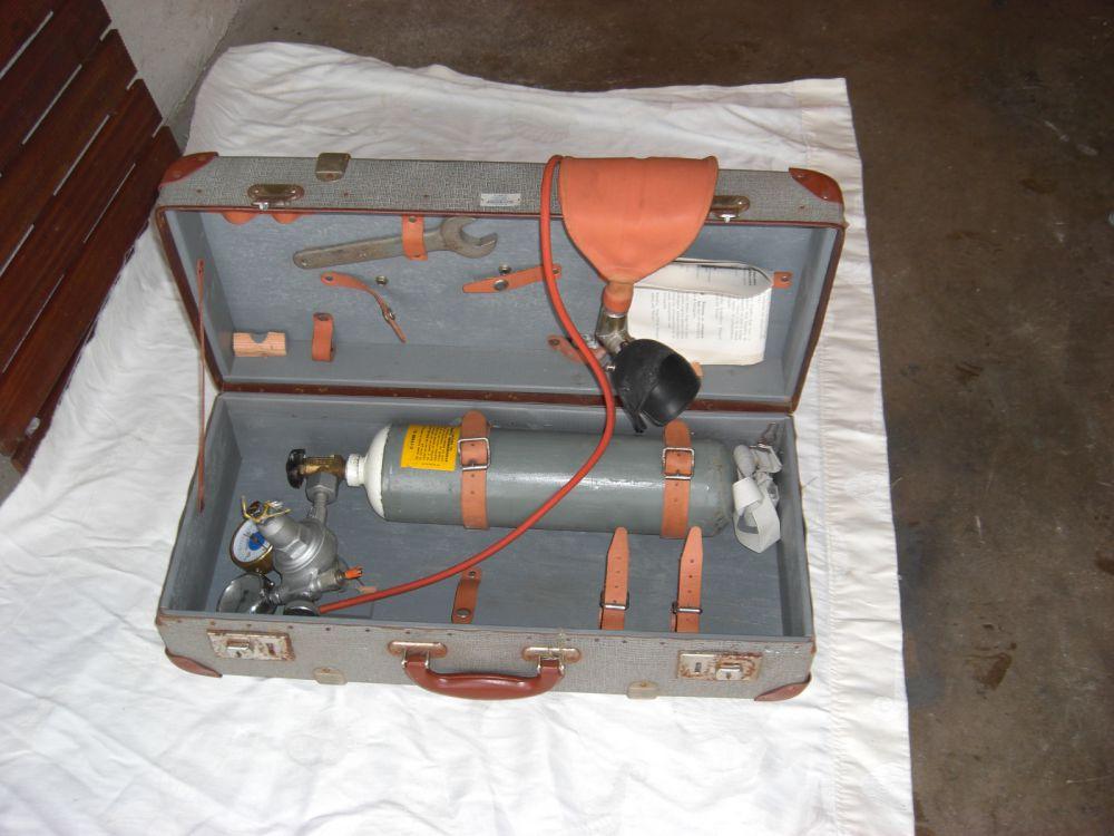 Syrgas apparat