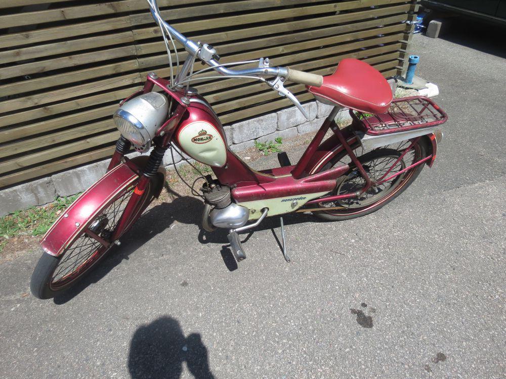 Moped monarpeden veteran kilrem