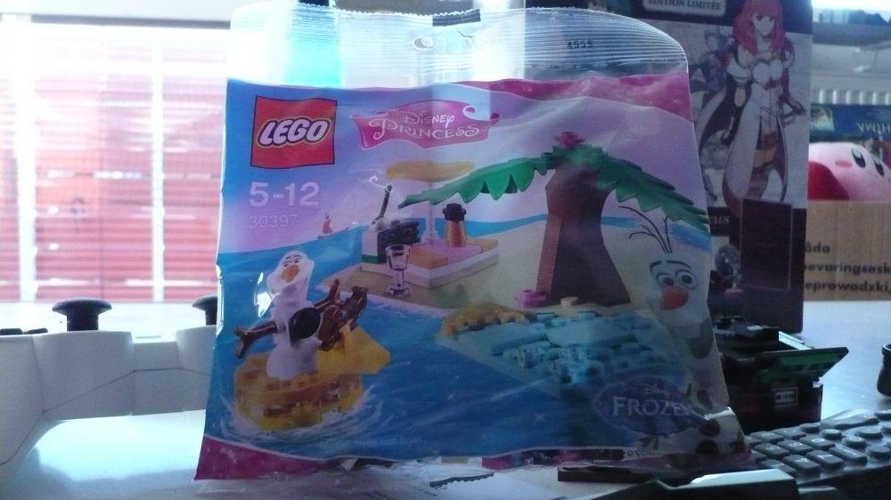 Lego Frozen set - Olofs sommar