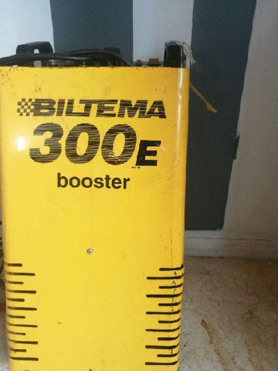 Batteriladdare\hjälpstartare