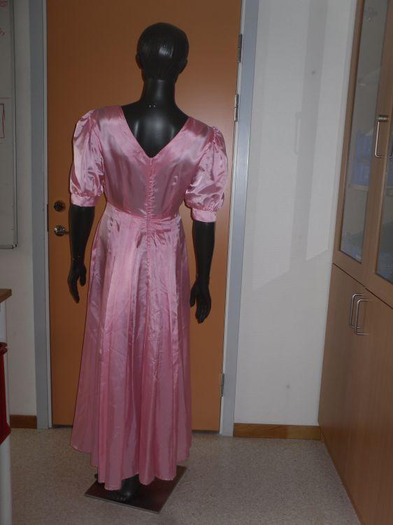 Rosa balklänning ev stl 38