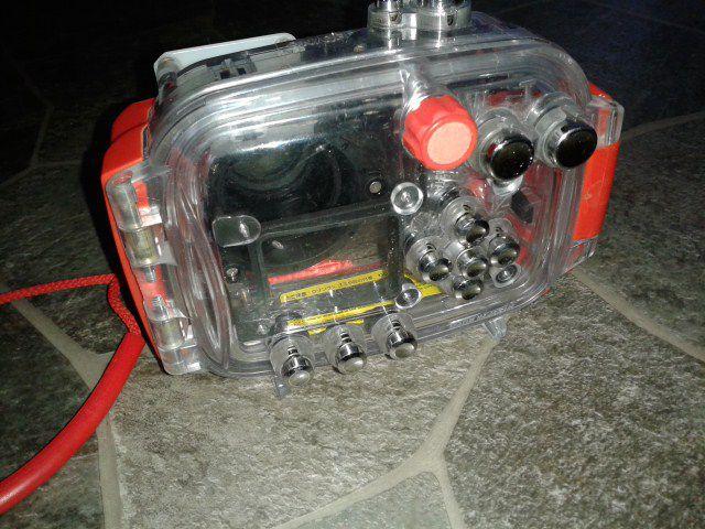 Undervattenshus WP-CP2 för Nikon Coolpix kompaktkamera