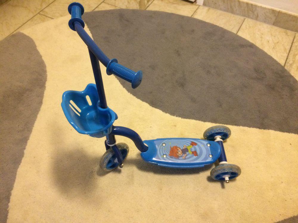 Barncykel och kickbike