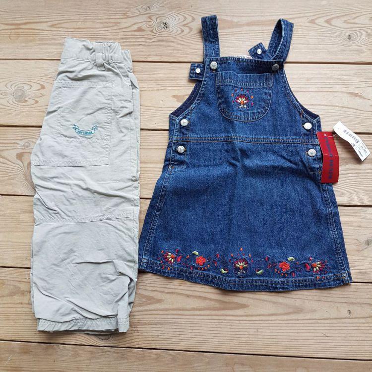Nya flickkläder st. 98