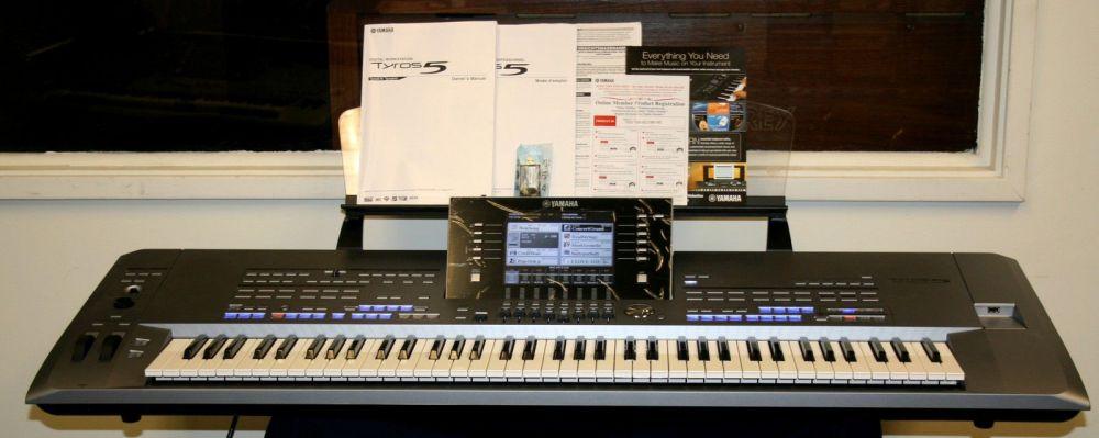 Korg Pa4X Pro76-Key-  CDJ-2000 Nexus- Yamaha Tyros 5