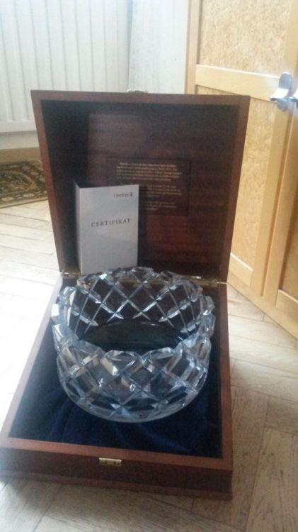 Kristallskål, Orrefors glasbruk