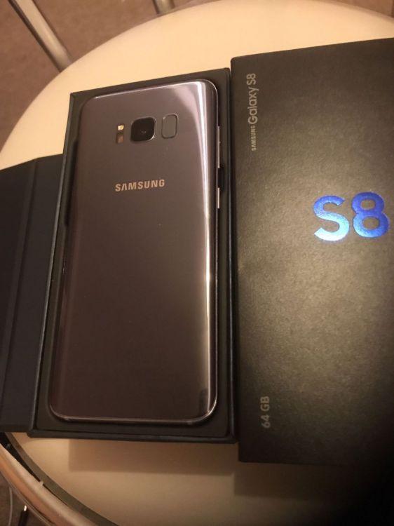 Samsung Galaxy S8 and S8+ 64GB (Unlocked) Phones