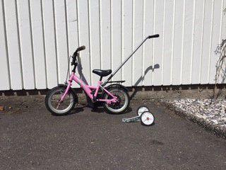 Cyklar, scooter