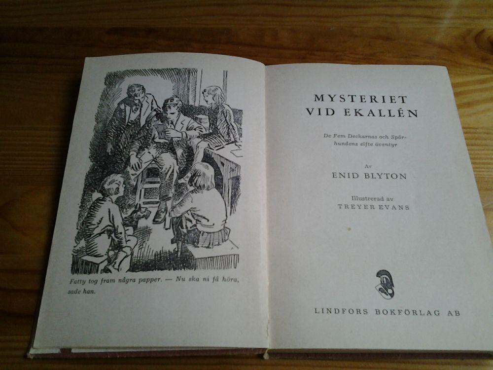 Mysteriet vid ekallén - bok av Enid Blyton