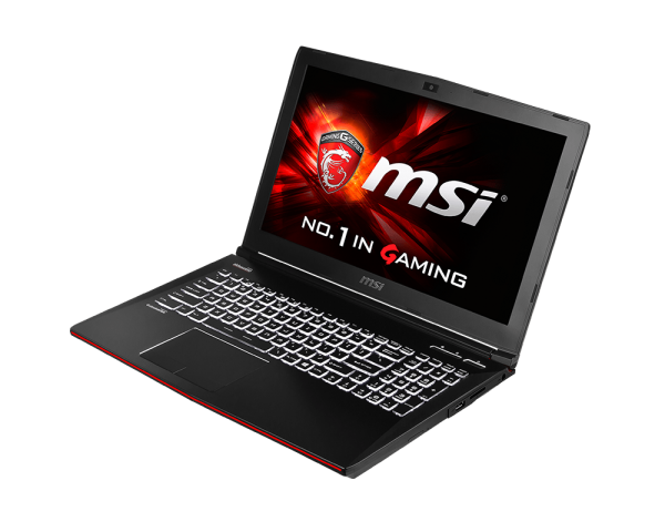 Kraftig Gaming Laptop MSI GE62 2QC APACHE GTX 960m i7 5950HQ 15.6