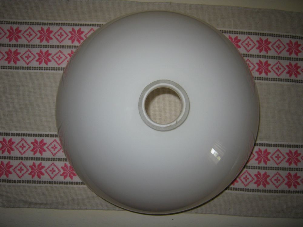 Gammal Lampkupa Taklampa