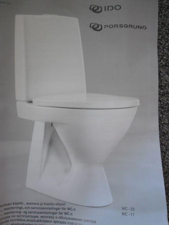 Nya toalettstolar toalettstol 2 stycken IDO
