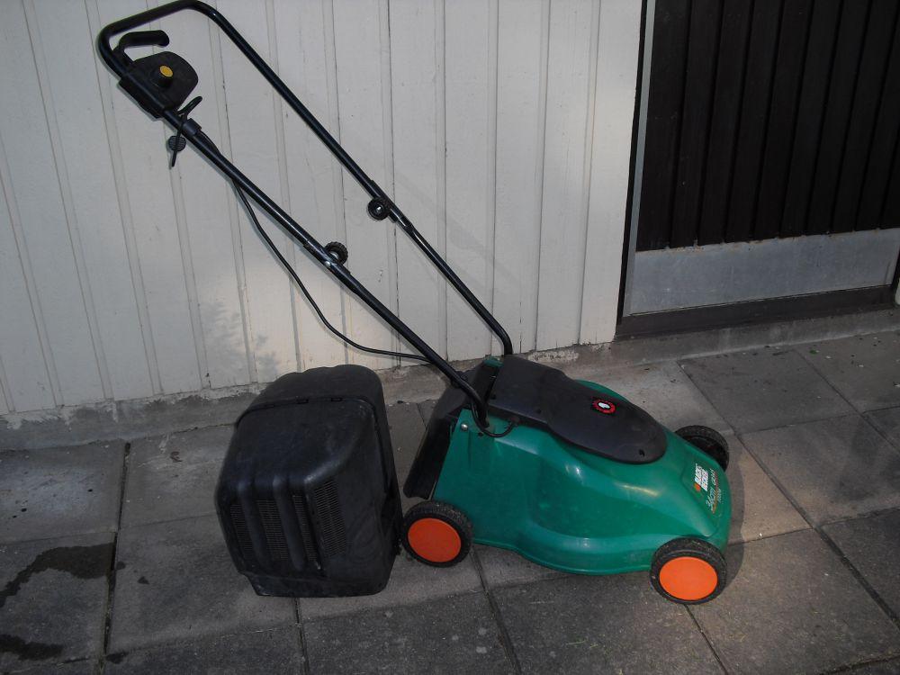 El gräsklippare och trimmer