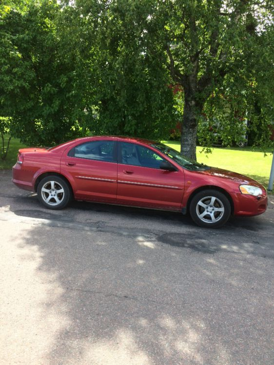 Chrysler Sebring -04. Besiktad och skattad