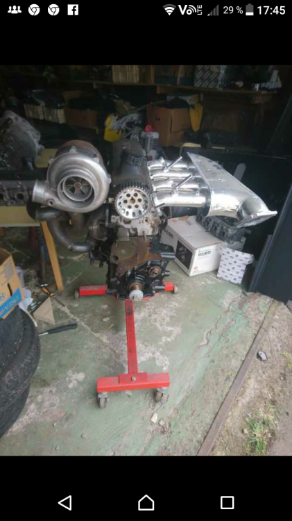 Volvo 244 turbo projekt