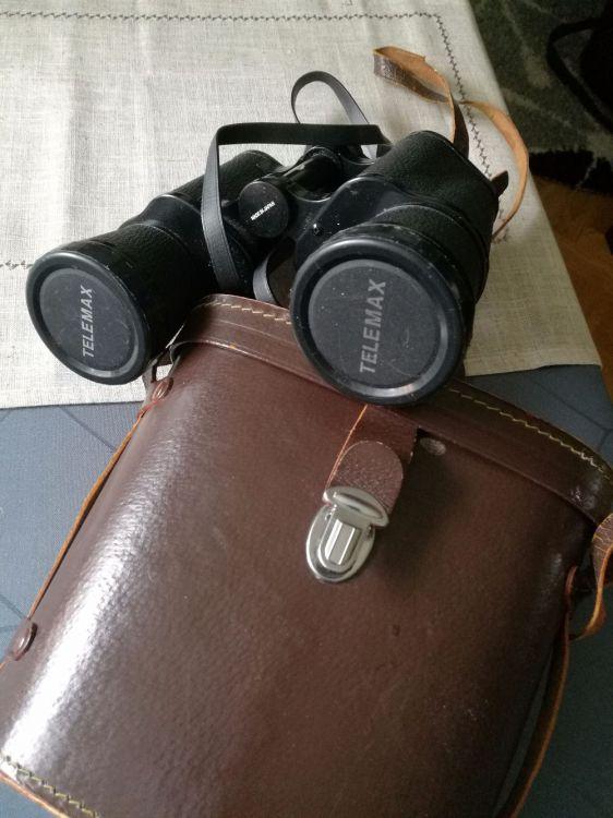 Telemax kikare med väska