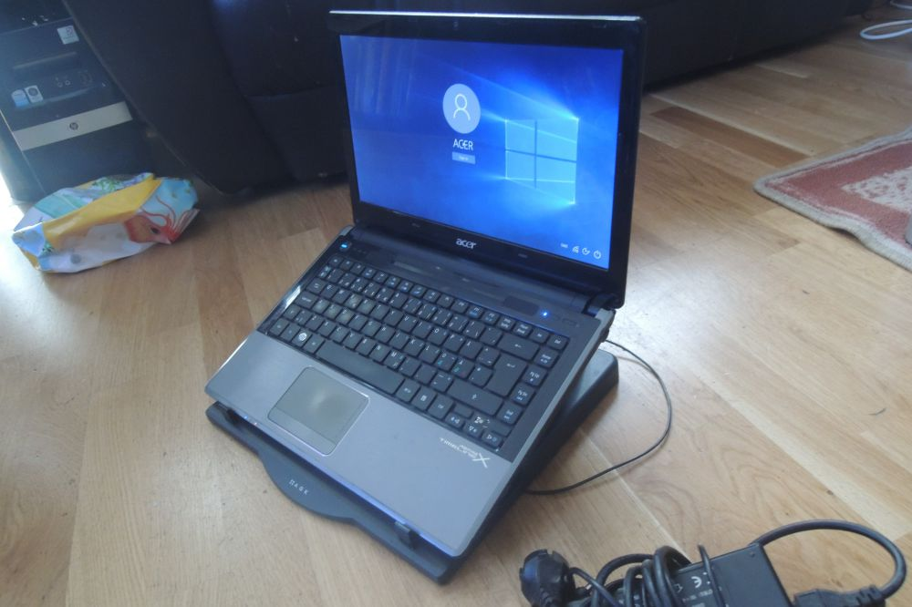 Acer Aspire intel i5 8GB raminne ddr3