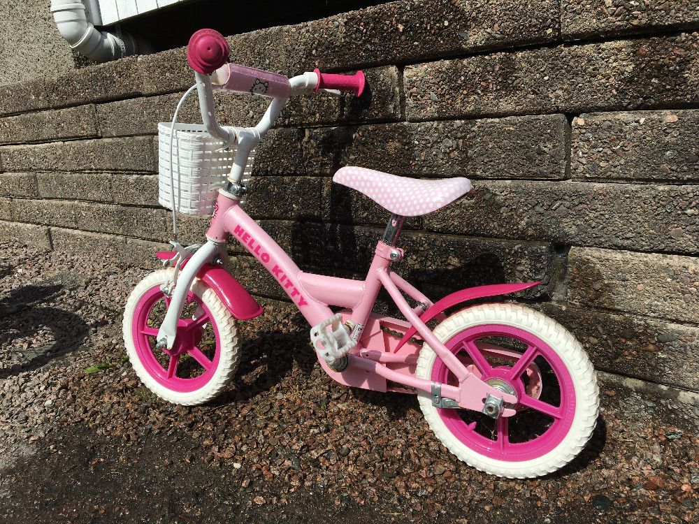 Barncykel Hello kitty