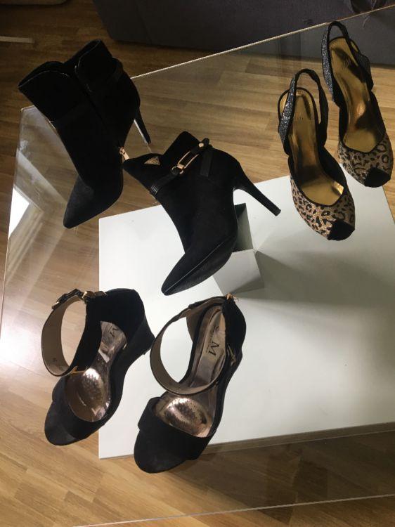 Klänning och skor st 38 0739980721